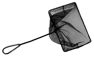 Aquascape Mini Pond Net with 12″ Twisted Handle 10″ x 7″ – Fish Care & Food – Part Number: 98556 – Pond Supplies