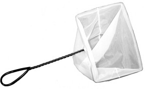Aquascape Mini Skimmer Net with Twisted Handle 10