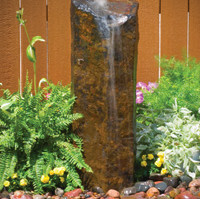Aquascape Natural Mongolian Basalt Column – 30″H – Decorative Water Features – Part Number: 98503 – Pond Supplies