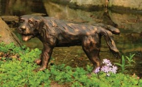 Aquascape Naughty Dog Spitter w/pump - Decorative Water Features - Part Number: 78012 - Pond Supplies