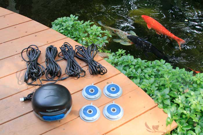 Aquascape Pond Air 4 - Aeration - Seasonal Pond Care - Aquascape Pond Supplies - Part Number: 75001