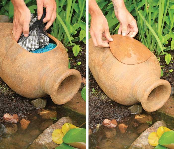 Aquascape Pond Filter Urn - Pond Filtration - Pond Filter Urn - Part Number: 77006 - Aquascape Pond Supplies