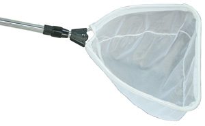 Aquascape pond skimmer net with extendable handle heavy for How to remove algae from pond without harming fish