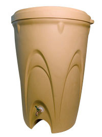 Aquascape Sandstone Rain Barrel - Rainwater Harvesting - Promo Items - Part Number: 98767 - Aquascape Pond Supplies