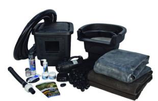 Aquascape Small 8′ x 11′ Pond Kit w/AquaSurge® 3000 (GYFW) – Pond and Pondless Kits – Part Number: 53008 – Pond Supplies
