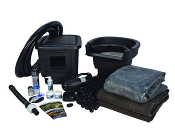 Aquascape Small 8u2032 X 11u2032 Pond Kit W/AquaSurge® 3000 (GYFW) U2013 Pond And  Pondless Kits U2013 Part Number: 53008 U2013 Pond Supplies