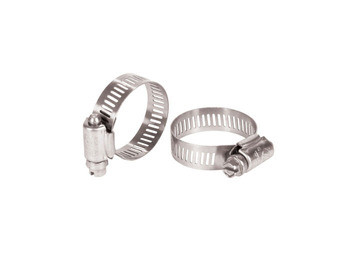 "Aquascape Stainless Steel Hose Clamp (2) 1.5"" to 2"" - Fittings"