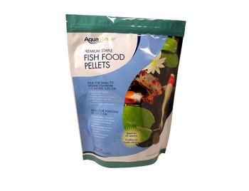 Aquascape staple fish food pellets 1kg fish care food for Fish pond chemicals