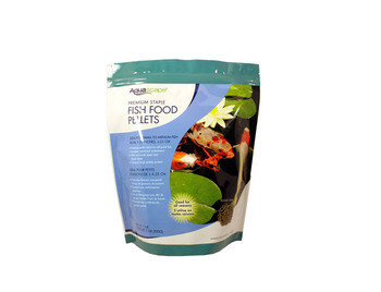 Aquascape Staple Fish Food Pellets 500g - Fish Food - Fish Care & Food - Part Number: 98867 - Aquascape Pond Supplies