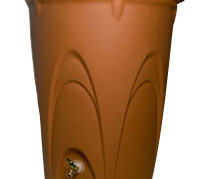 Aquascape Terra Cotta Rain Barrel - Rainwater Harvesting - Part Number: 98766 - Pond Supplies