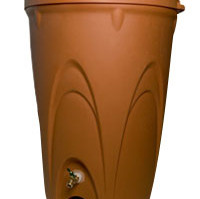 Aquascape Terra Cotta Rain Barrel – Rainwater Harvesting – Part Number: 98766 – Pond Supplies
