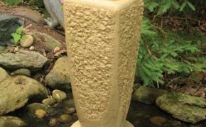 Aquascape Textured Ripple Fountain Kit - Large/Crushed Coral - Decorative Water Features - Part Number: 78068 - Pond Supplies