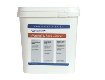Aquascape AquascapePRO® Waterfall & Rock Cleaner/Dry - 9 lb - Waterfall and Rock Cleaner - Water Treatments - Part Number: 30413 - Aquascape Pond Supplies