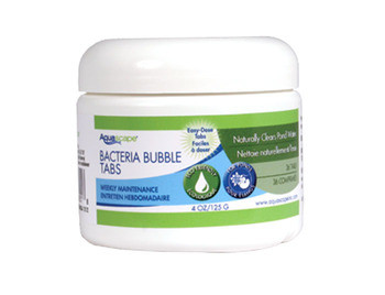 Aquascape Beneficial Bacteria Bubble Tabs - 36 count - Beneficial Bacteria - Water Treatments - Part Number: 98951 - Aquascape Pond Supplies