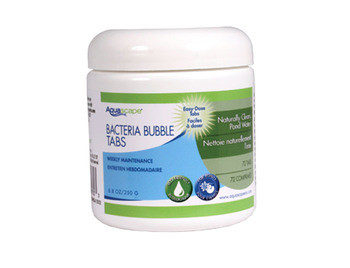 Aquascape Beneficial Bacteria Bubble Tabs - 72 count - Beneficial Bacteria - Water Treatments - Part Number: 98930 - Aquascape Pond Supplies