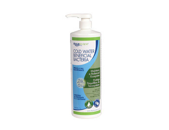 Aquascape Cold Water Beneficial Bacteria/Liquid - 1 Ltr/33.8 oz - Beneficial Bacteria - Water Treatments - Part Number: 98894 - Aquascape Pond Supplies