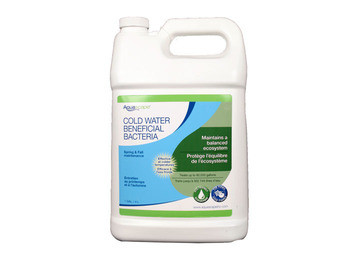 Aquascape Cold Water Beneficial Bacteria/Liquid 4 ltr/1.1 gal - Beneficial Bacteria - Water Treatments - Part Number: 96021 - Aquascape Pond Supplies