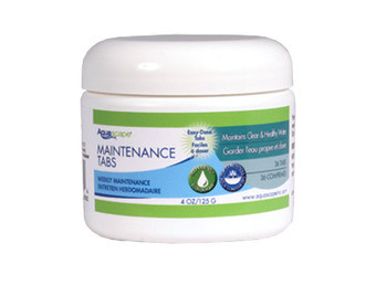 Aquascape Container Water Garden Maintenance Tabs (36 tabs) - Beneficial Bacteria - Water Treatments - Part Number: 40004 - Aquascape Pond Supplies