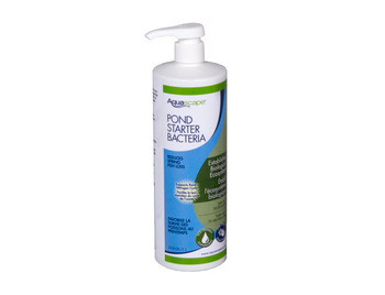 Aquascape Pond Starter Bacteria/Liquid - 1 ltr/33.8 oz - Pond Starter - Water Treatments - Part Number: 96015 - Aquascape Pond Supplies