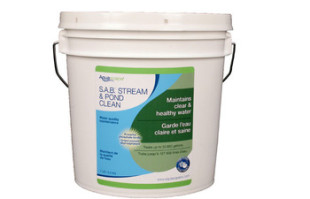 Aquascape SAB Stream & Pond Clean – 3.2 kg/7 lb – Water Treatments – Part Number: 98896 – Pond Supplies