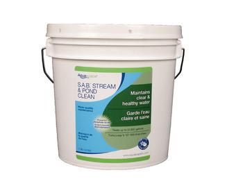 Aquascape SAB Stream & Pond Clean - 3.2 kg/7 lb - S.A.B. Stream and Pond Clean - Water Treatments - Part Number: 98896 - Aquascape Pond Supplies