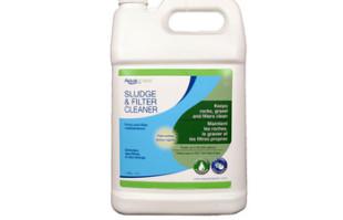 Aquascape Sludge & Filter Cleaner/Liquid – 4 Ltr/1.1 gal – Water Treatments – Part Number: 98883 – Pond Supplies