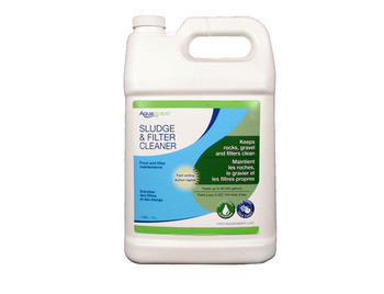 Aquascape Sludge & Filter Cleaner/Liquid - 4 Ltr/1.1 gal - Sludge Cleaner - Water Treatments - Part Number: 98883 - Aquascape Pond Supplies