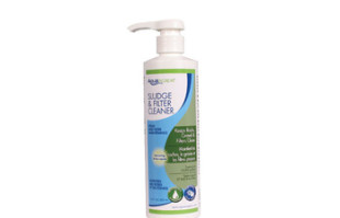 Aquascape Sludge & Filter Cleaner/Liquid – 500 ml/16.9 oz – Water Treatments – Part Number: 98890 – Pond Supplies