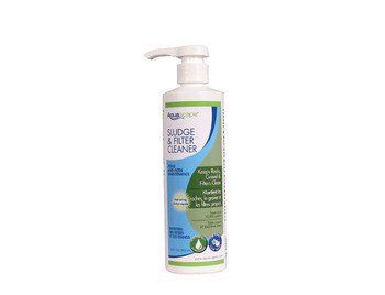Aquascape Sludge & Filter Cleaner/Liquid - 500 ml/16.9 oz - Sludge Cleaner - Water Treatments - Part Number: 98890 - Aquascape Pond Supplies