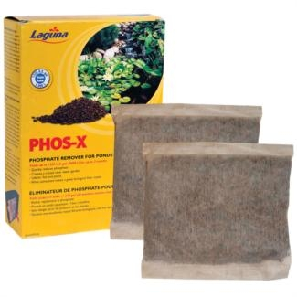 Pond Water Care: Phos-X Granules | Phosphate Control Learn more about Pond Supplies, Pond Care & Maintenance, Water Care, Phosphate Control and Pond Maintenance at SunlandWaterGardens.com
