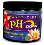 Pond Water Care: GreenClean pH Reducer | pH Control Learn more about Pond Supplies, Pond Care & Maintenance, Water Care, pH Control and Pond Maintenance at SunlandWaterGardens.com