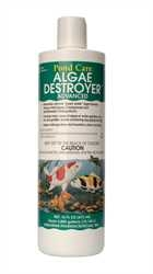 Pond Water Care: PondCare AlgaeDestroyer 16oz | Algae Control Learn more about Pond Supplies, Pond Care & Maintenance, Water Care, Algae Control and Pond Maintenance at SunlandWaterGardens.com