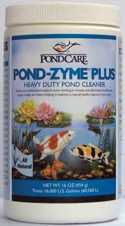 Pond Water Care: Pond Zyme Plus Barley | Bacterial Products Learn more about Pond Supplies, Pond Care & Maintenance, Water Care, Bacterial Products and Pond Maintenance at SunlandWaterGardens.com