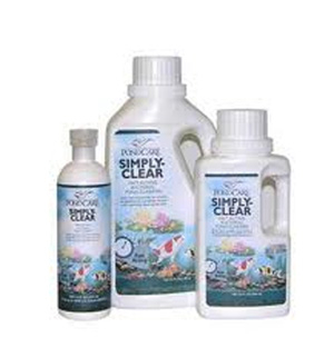 Pond Water Care: PondCare Simply Clear | Bacterial Products Learn more about Pond Supplies, Pond Care & Maintenance, Water Care, Bacterial Products and Pond Maintenance at SunlandWaterGardens.com