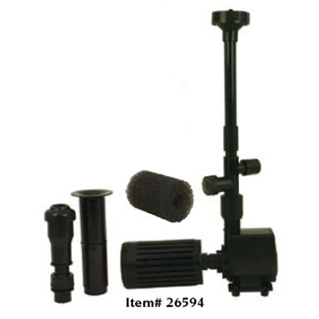 Pond Filters: Tetra FK3 Fountain Kit | Tetra Pond Filters Learn more about Pond Supplies, Pumps & Filters, Pond Filters, Tetra Pond Filters and Pond Pumps & Pond Filters at SunlandWaterGardens.com