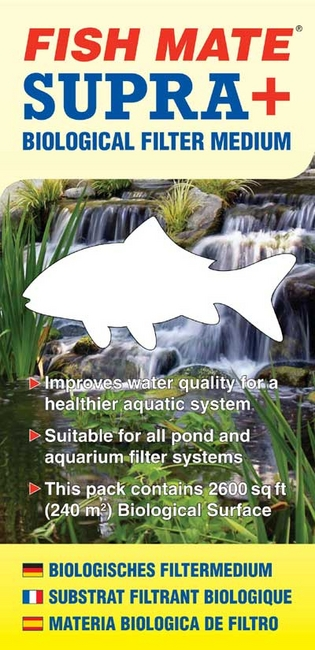 Pond Filters: Supra Plus Bio Media | FishMate Filters Learn more about Pond Supplies, Pumps & Filters, Pond Filters, FishMate Filters and Pond Pumps & Pond Filters at SunlandWaterGardens.com