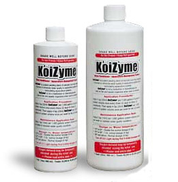 Pond Water Care: KoiZyme   Bacterial Products Learn more about Pond Supplies, Pond Care & Maintenance, Water Care, Bacterial Products and Pond Maintenance at SunlandWaterGardens.com