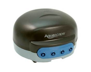 Learn more about the Aquascape PondAir 4T Air Pump and other pond supplies like   - Pond Aeration, Pond Pumps & Pond Filters, Pond Air Pumps, Pond Pumps & Pond Filters and Pond Maintenance at SunlandWaterGardens.com
