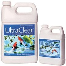 Pond Water Care: UltraClear Biological Pond Clarifier | Bacterial Products Learn more about Pond Supplies, Pond Care & Maintenance, Water Care, Bacterial Products and Pond Maintenance at SunlandWaterGardens.com