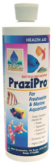 Pond Fish Supplies: PraziPro   Pond Fish Learn more about Pond Supplies, Fish Care, Fish Health Care, Miscellaneous and Pond Fish at SunlandWaterGardens.com