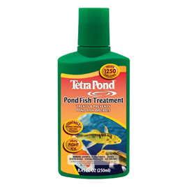 Pond Fish Supplies: Pond Fish Treatment (formerly DesaFin) 16.9 oz | Pond Fish Learn more about Pond Supplies, Fish Care, Fish Health Care, Tetra and Pond Fish at SunlandWaterGardens.com