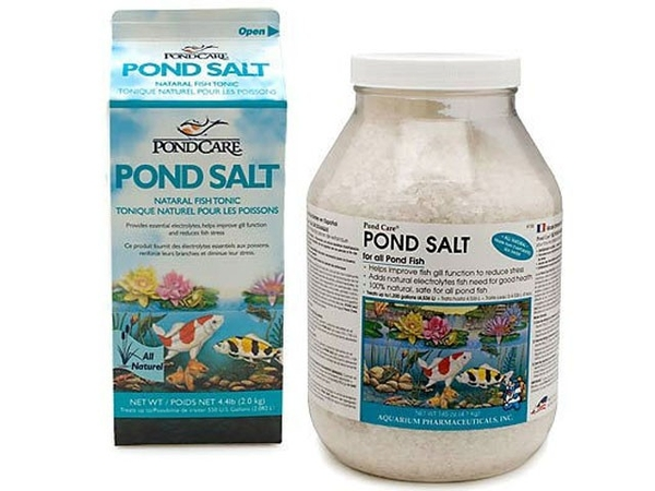 Pond Fish Supplies: Pond Salt | Pond Fish Learn more about Pond Supplies, Fish Care, Fish Health Care, Aquarium Pharmaceuticals and Pond Fish at SunlandWaterGardens.com