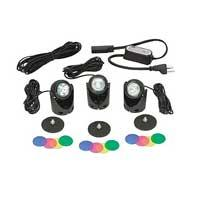 Lighting: 3 Light Egglite Kit 10w (with transformer) - Pond Lights Learn more about Pond Supplies, Lighting, Pond Lighting and Pond Lights at SunlandWaterGardens.com