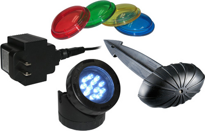 Lighting: Alpine LED Pond Light - Pond Lights Learn more about Pond Supplies, Lighting, Pond Lighting and Pond Lights at SunlandWaterGardens.com