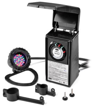 Lighting: Underwater LED Light by WaterMark - Pond Lights Learn more about Pond Supplies, Lighting, Pond Lighting and Pond Lights at SunlandWaterGardens.com