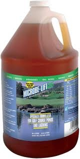 Pond Water Care: Microbe-lift GOLF | Bacterial Products Learn more about Pond Supplies, Pond Care & Maintenance, Water Care, Bacterial Products and Pond Maintenance at SunlandWaterGardens.com