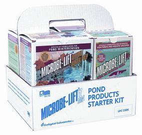 Pond Water Care: Microbe-lift Starter Kit | Pond Clarifiers Learn more about Pond Supplies, Pond Care & Maintenance, Water Care, Pond Clarifiers and Pond Maintenance at SunlandWaterGardens.com