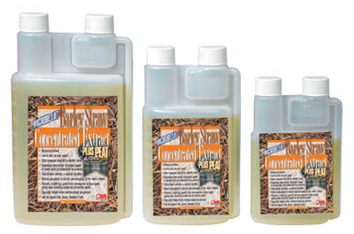 Pond Water Care: Barley Straw Extract PLUS Liquid Peat | Barley Products Learn more about Pond Supplies, Pond Care & Maintenance, Water Care, Barley Products and Pond Maintenance at SunlandWaterGardens.com