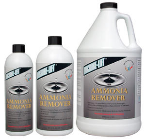 Pond Water Care: Microbe-lift Ammonia Remover | Chlorine/Ammonia Control Learn more about Pond Supplies, Pond Care & Maintenance, Water Care, Chlorine/Ammonia Control and Pond Maintenance at SunlandWaterGardens.com