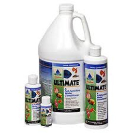 Pond Water Care: ULTIMATE by Aquarium Solutions   Chlorine/Ammonia Control Learn more about Pond Supplies, Pond Care & Maintenance, Water Care, Chlorine/Ammonia Control and Pond Maintenance at SunlandWaterGardens.com